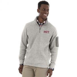 Men's MIT Grey 1/4 Zip Sweater Fleece