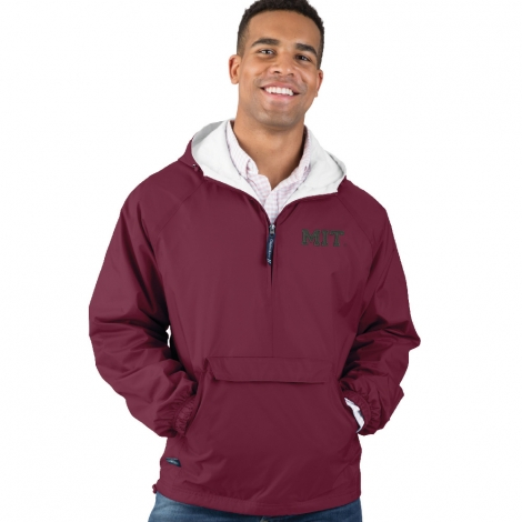 Men's MIT Maroon Classic Solid Pullover