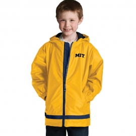 Youth MIT Yellow New Englander Rain Jacket