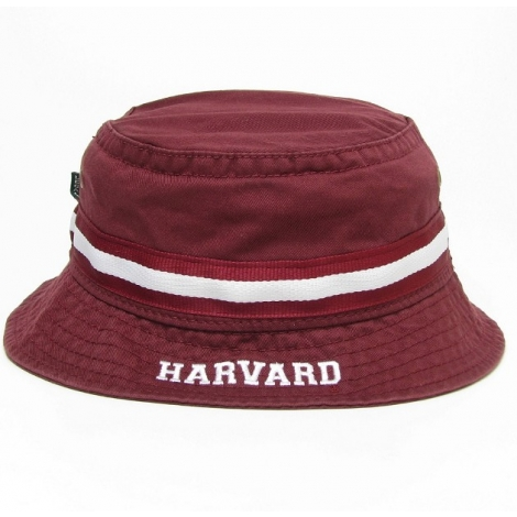 Home   HARVARD   Men   Accessories   Hats   Visors   Harvard Burgundy  Relaxed Twill Bucket Hat 35f6f5e0a26