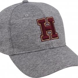 Harvard H Heathered Structured Performance Hat