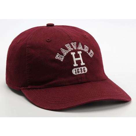 Harvard Embroidered Block H 1636 Adjustable Washed Twill  Hat