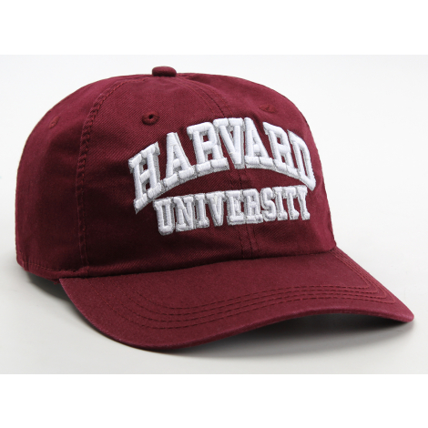 Harvard University Embroidered Adjustable Washed Twill Hat
