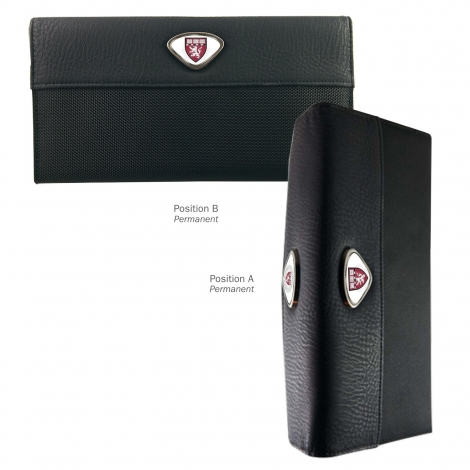 Harvard Medical School Passport Wallet with Custom Medallions