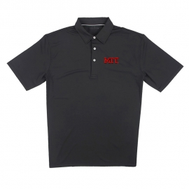 MIT Men's Short Sleeve Ecotec Solid Polo