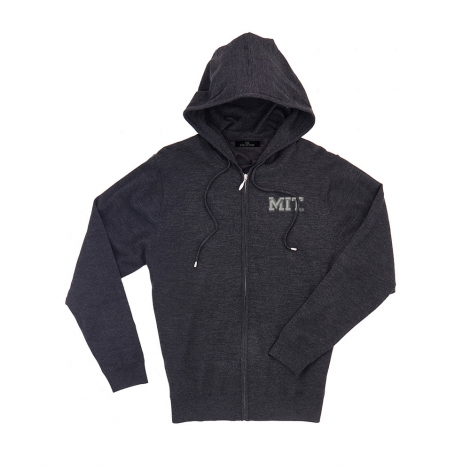 MIT Men's Merino Full Zip Hoodie Sweater