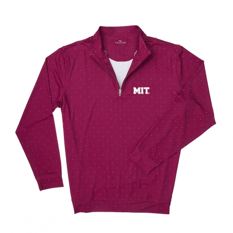 MIT Men's Ecotec Dual Dot 1/4 Long Sleeve