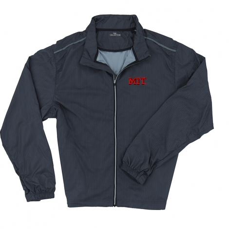 MIT Men's Tec Wind-Wear Full Zip Herringbone