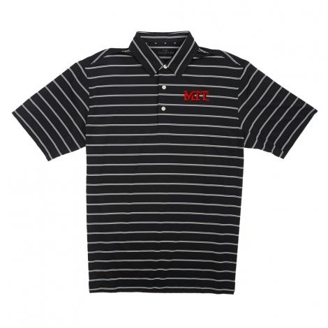 MIT Men's Short Sleeve Ecotec Stripe Polo