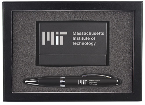 MIT Business Card Case & Pen Set