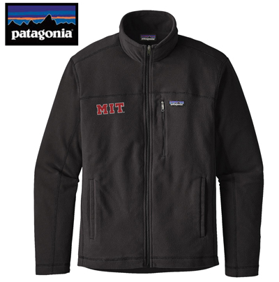 MIT Men's Patagonia Micro D Full Zip Fleece Jacket