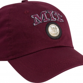 MIT Medallion Bordeaux Hat