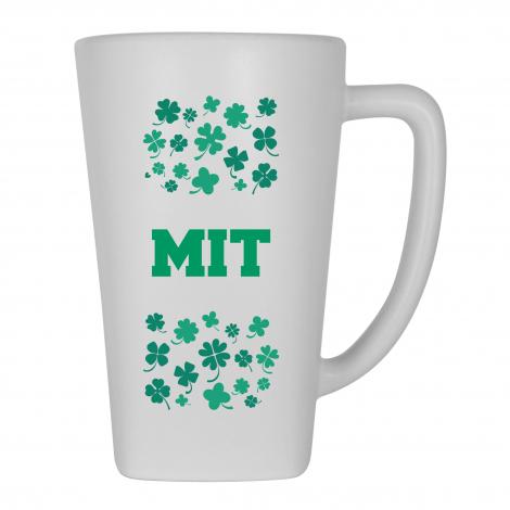 MIT Shamrock Matte Finish Ceramic Mug