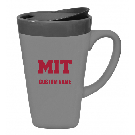 Personalized Ceramic MIT Mug