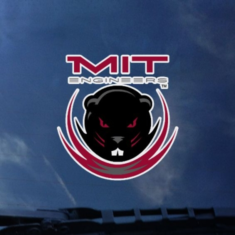 MIT Daper Seal Outside Decal