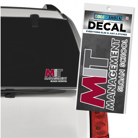 MIT Sloan School of Management Outside Decal