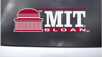 MIT Sloan School Outside Decal