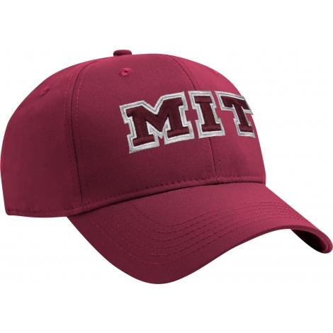 MIT Bordeaux Structured Lightweight Performance Hat