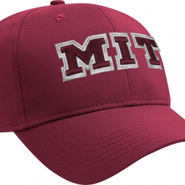 MIT Bordeaux Structured Lightweight Performance Hat