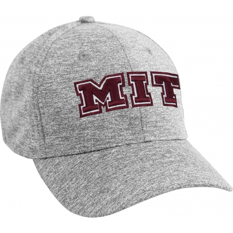 MIT Grey Structured Heathered Hat