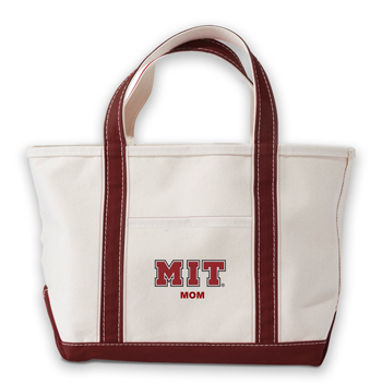 MIT Mom Kennebunkport Canvas Tote Bag