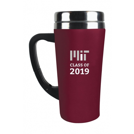 MIT Class of 2019 Soft Touch Tumbler with Clip Handle