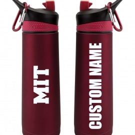 Personalized MIT 24 oz. Stainless Steel Water Bottle