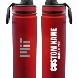 Personalized Class of 2021 MIT 24 oz. Stainless Steel Water Bottle