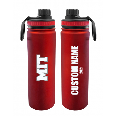 Personalized 2021 MIT 24 oz. Stainless Steel Water Bottle