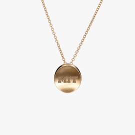 MIT Kyle Cavan Block Logo Necklace
