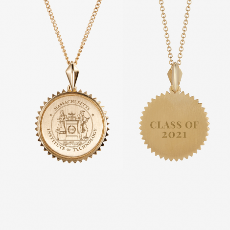 MIT Class of 2021 Kyle Cavan Sunburst Necklace