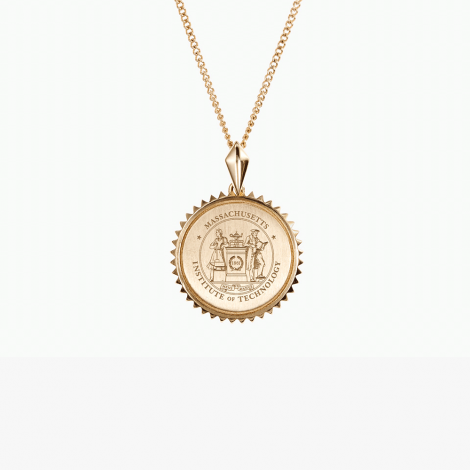 MIT Kyle Cavan Sunburst Crest Necklace