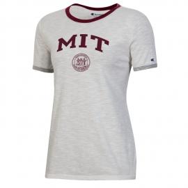 MIT Women's Slub Ringer Tee
