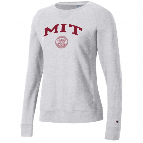 MIT Women's Champion Reverse Weave Crew Neck Sweatshirt