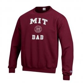 MIT Champion Dad Crew Neck Sweatshirt