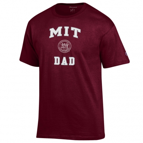 MIT Dad Champion Tee Shirt
