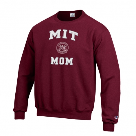 MIT Mom Crew Neck Sweatshirt