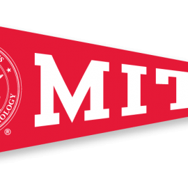 MIT Pennant with Seal