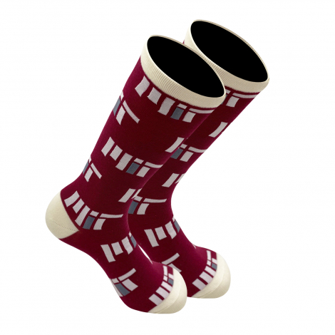 MIT Mid Calf Dress Sock