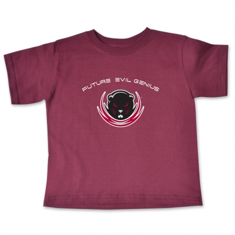 MIT Evil Genius Toddler Maroon Tee Shirt