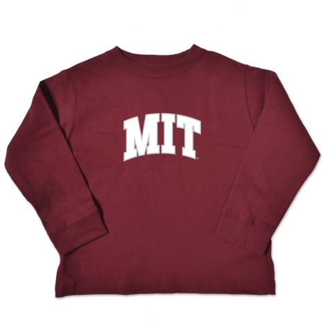 MIT Toddler Long Sleeve Tee Shirt