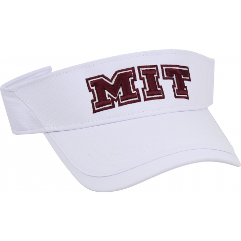 MIT White Performance Poly Visor