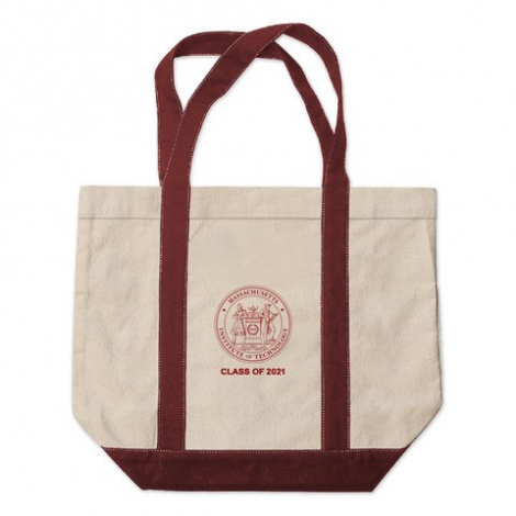 MIT Class of 2021 Kennebunkport Canvas Tote Bag