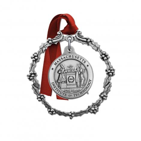 MIT 2 Piece Pewter Ornament