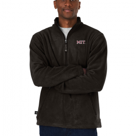 MIT Men's Charles River 1/4 Zip Fleece Pullover