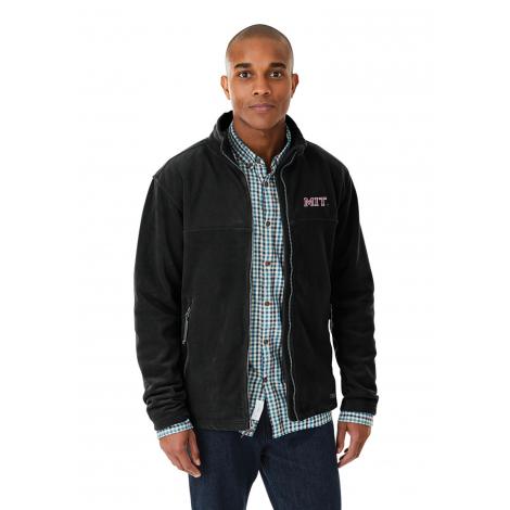 MIT Men's Charles River Full Zip Fleece Jacket