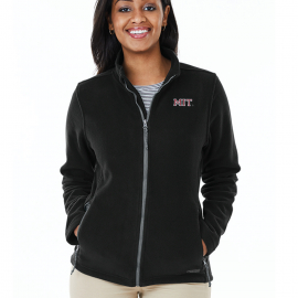 MIT Women's Charles River Fleece Full Zip Jacket
