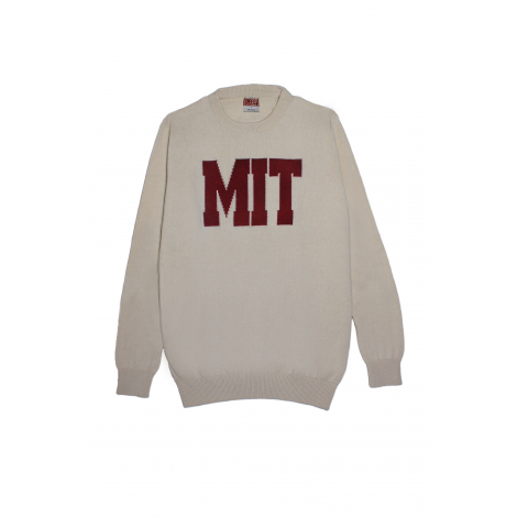 Traditional MIT Cotton Crew Neck Sweater
