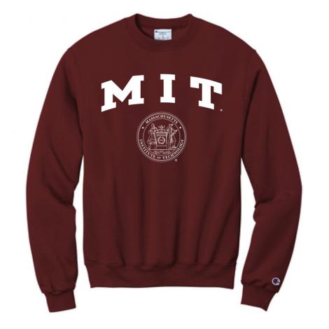 MIT Champion Crew Neck Sweatshirt