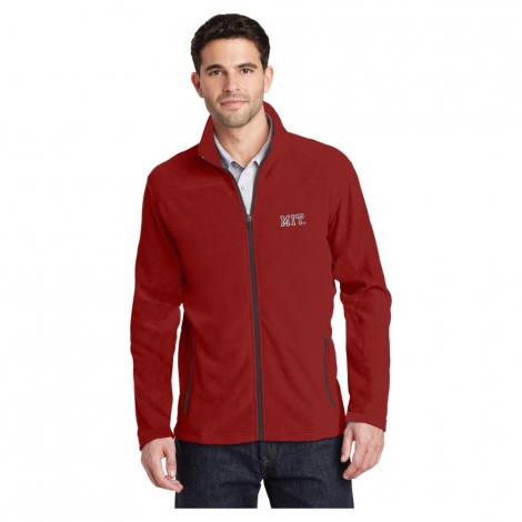 MIT Fleece Full Zip Jacket